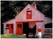 Customized Pole Barn for Horses