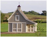 Free shed plans storage sheds garden sheds tool sheds for Free barn plans with loft