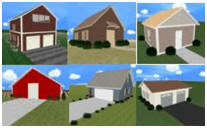 3D Designs for Barns, Garages and Workshops