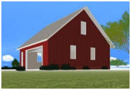 Do It Yourself 3D Barn, Garage, Workshop or Shed Design