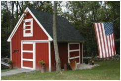 Candlewood Mini Pole Barn Plans