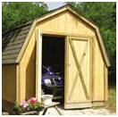 Drive-Thru Pole-Frame Shed Building Plans